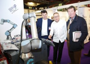 Dan Buckley, Martin Buckley and Guest, at the expo